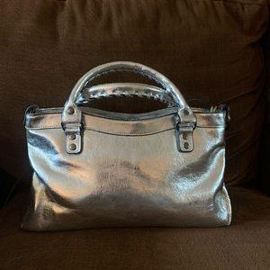 Bueno silver vintage bag.